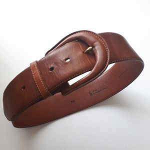 RALPH LAUREN | Wide Leather Belt
